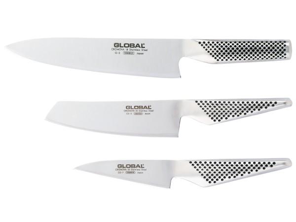 Global G257 Messerset dreiteilig
